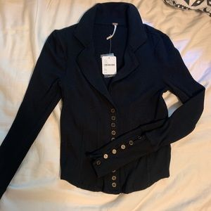 Free people long sleeve, size XS. With tags.
